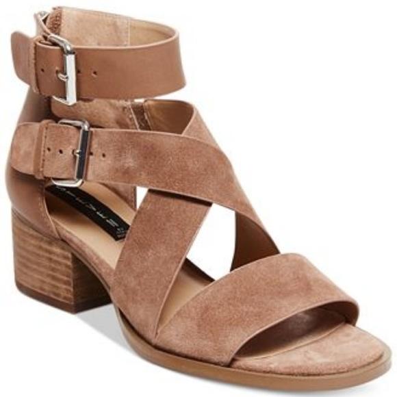c50b1c3c711 Steven Elinda Strappy Block Heel Sandals. M 5b1f4e1d3c984413cf8a7b03